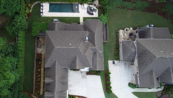 Home inspections empowered by drone technology by Spectrum Property Inspections