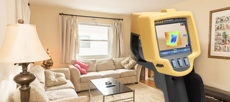 Get a thermal (infrared) home inspection from Spectrum Property Inspections